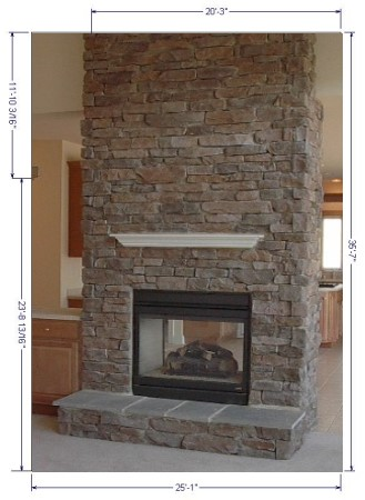cultured of saura ideas dutt fireplace v design stones stone